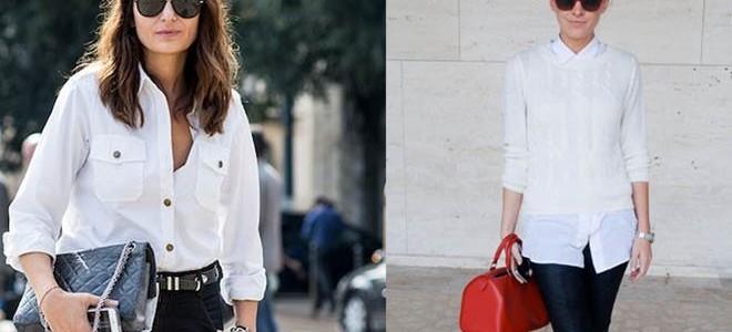 Οι πιο κομψές προτάσεις για να φορέσεις το λευκό σου πουκάμισο!