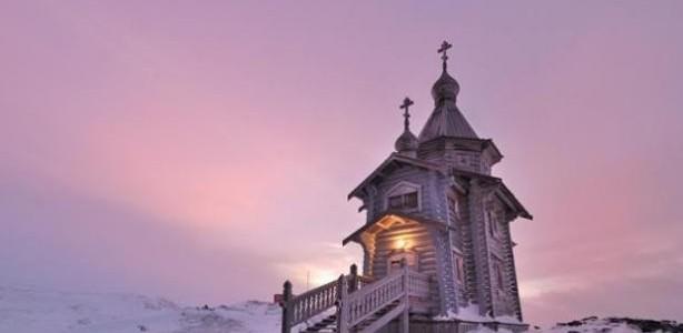 Συγκλονιστικό! Μια Ορθόδοξη Εκκλησία στην Ανταρκτική