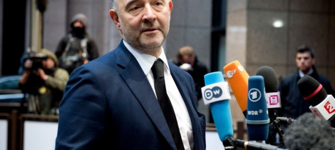 Μοσκοβισί: Σημαντική πρόοδος αλλά απομένει πολύ δουλειά ως τη συνεδρίαση του Eurogroup