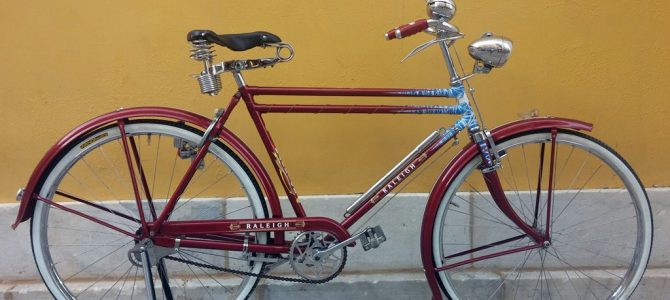 Raleigh Deep Red DTT Premium