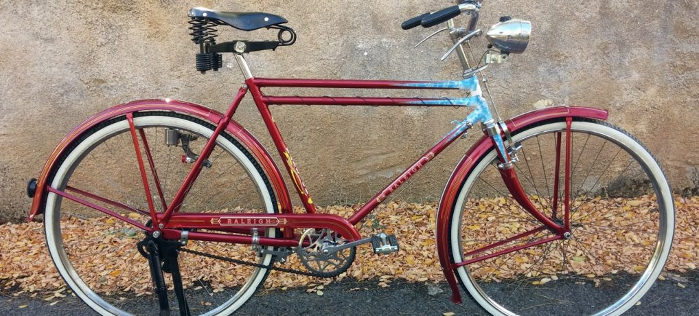 Raleigh Brilliant Red DTT