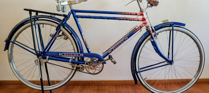 Raleigh Blue DTT