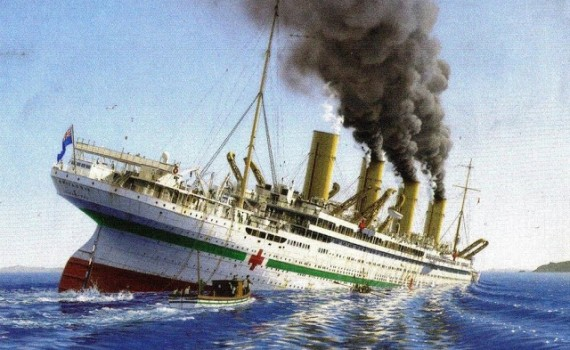 Death_of_the_Britannic_by_Gades1980