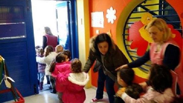 Άσκηση Αντισεισμικής Προστασίας, έγινε σήμερα,στους Παιδικούς Σταθμούς του Δήμου Βριλησσίων.