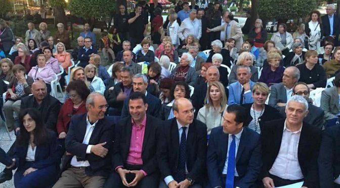 Στα εγκαίνια της 63ης Ανθοκομικής Έκθεσης Κηφισιάς παρευρέθηκε ο Αντιπεριφερειάρχης Βόρειου Τομέα Αθηνών, Γιώργος Καραμέρος.