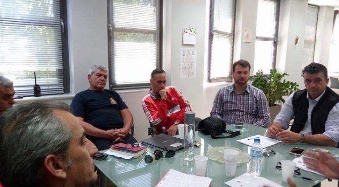 Συνεδρίαση Συντονιστικού τοπικού οργάνου Πολιτικής Προστασίας Βριλησσίων πραγματοποιήθηκε σήμερα το πρωί στο γραφείο του Δημάρχου.