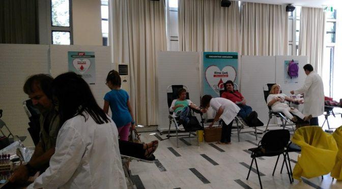 Με μεγάλη συμμετοχή αιμοδοτών ολοκληρώθηκε η 25η Εθελοντική Αιμοδοσία που διοργάνωσε ο Οργανισμός Κοινωνικής Πολιτικής και Αλληλεγγύης Δήμου Αμαρουσίου (Ο.ΚΟΙ.Π.Α.Δ.Α) για την ενίσχυση της Τράπεζας Αίματος του Δήμου.