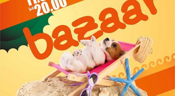 """Το μπαζαάρ των """"Φίλων Ζώων Χαλανδρίου"""" για το μήνα Ιούνιο θα γίνει το ερχόμενο Σάββατο 10 του μηνός."""
