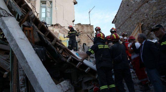 Άμεση ήταν η κινητοποίηση του Δήμου Βριλησσίων για την ανακούφιση των πληγέντων από το σεισμό των 6,3 Ρίχτερ στη Λέσβο.