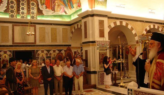 Με πλήθος πιστών τελέστηκε την Τρίτη 25 Ιουλίου ο εορτασμός στον Ιερό Ναό της Αγ. Παρασκευής στη Δ.Κ. Ν. Πεντέλης.