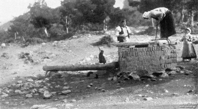 1932: ΠΗΓΑΔΙ ΣΤΗΝ ΠΕΝΤΕΛΗ, ΠΗΓΑΙΝΟΝΤΑΣ ΠΡΟΣ ΤΗ ΣΠΗΛΙΑ ΤΟΥ ΝΤΑΒΕΛΗ