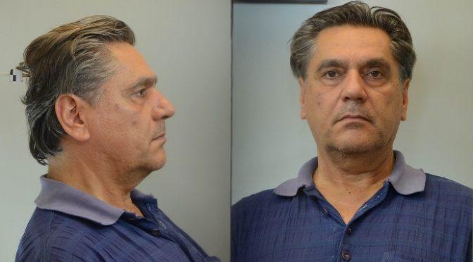 """Σύμφωνα με ανακοίνωση της Αστυνομίας: """"Δίνονται στη δημοσιότητα, κατόπιν σχετικής Διάταξης της Εισαγγελίας Πρωτοδικών Αθηνών, τα στοιχεία ταυτότητας και φωτογραφίες 60χρονου ημεδαπού, ο οποίος συνελήφθη στις 31-8-2017 στην Αθήνα, από αστυνομικούς της Υποδιεύθυνσης Προστασίας Ανηλίκων της Διεύθυνσης Ασφάλειας Αττικής, κατηγορούμενος για αποπλάνηση ανηλίκων."""