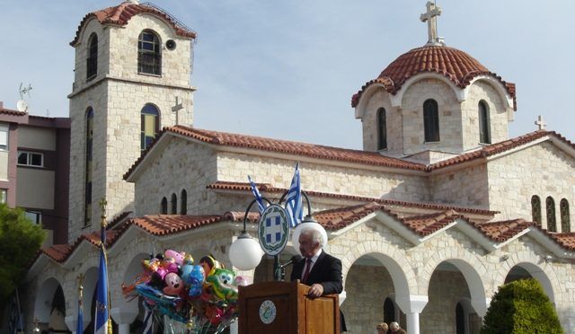 Η ομιλία του Δημάρχου Πεντέλης, Δημητρίου Στεργίου Καψάλη, στον εορτασμό για την 28η Οκτωβρίου: