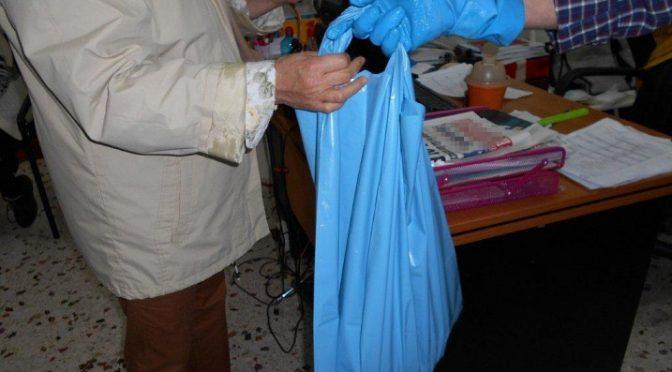 Περισσότερα από 300 κιλά φρέσκα ψάρια διένειμε το Κοινωνικό Παντοπωλείο του Δήμου Αμαρουσίου σε ευπαθείς ομάδες πολιτών με την ευγενική χορηγία του Γενικού Διευθυντή της Ιχθυόσκαλας Κερατσινίου κου Βασίλη Κατσιώτη.
