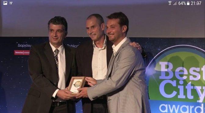 Δύο χρυσά βραβεία και ένα αργυρό απονεμήθηκαν στο Δήμο Βριλησσίων στο πλαίσιο των βραβείων 'Best City Awards 2017'.