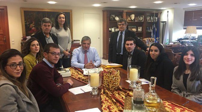 Με επτά νέους ασκούμενους δικηγόρους ενισχύθηκε η Νομική Υπηρεσία του Δήμου Αμαρουσίου.