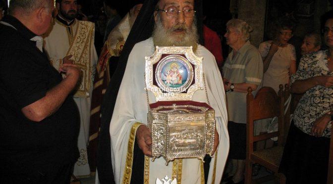 Πλήρης ημερών εκοιμήθη σήμερα το πρωί ο αρχιμανδρίτης Ιλαρίων Γκαβέας, αδελφός της Ιεράς Μονής Πεντέλης.