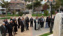 Την Κυριακή 18 Μαρτίου πραγματοποιήθηκε από τον Σύλλογο Κυκλαδιτών & Φίλων Ν.Πεντέλης μνημόσυνο Λατόμων στην κεντρική πλατεία της Δ.Κ. Ν.Πεντέλης.