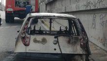 Φωτιά ξέσπασε σε αυτοκίνητο ιδιωτικής χρήσης, πριν από λίγη ώρα, στη Λεωφόρο Κηφισίας.