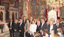 Με τη δέουσα λαμπρότητα ολοκληρώθηκαν τη Δευτέρα 23 Απριλίου οι εορταστικές εκδηλώσεις του Ι.Ν. Αγ. Γεωργίου της Δ.Κ. Μελισσίων με τη Θεία Λειτουργία και τη λιτάνευση της εικόνας του Αγίου