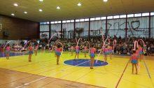 Περισσότερα από 250 παιδιά συμμετείχαν στις επιδείξεις ελεύθερης, ενόργανης και ρυθμικής γυμναστικής, που διοργάνωσε το Αθλητικό Κέντρο Δήμου Αμαρουσίου στο κλειστό γυμναστήριο «Σπύρος Λούης» με την ευκαιρία της λήξης των αντίστοιχων προγραμμάτων.