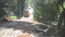 Ο Σύνδεσμος Δήμων για την Προστασία και Ανάπλαση του Πεντελικού (Σ.Π.Α.Π.) σε συνεργασία με το Δήμο Αμαρουσίου και μετά από έγκριση του Ινστιτούτου Γεωπονικών Επιστημών, εκτελεί έργο αποκατάστασης της βατότητας των εσωτερικών και περιμετρικών χωματόδρομων στο Δάσος Συγγρού.