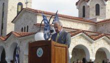 Η ομιλία του Δημάρχου Πεντέλης, Δημήτρη Στεργίου Καψάλη, για την επέτειο της 28ης Οκτωβρίου 1940
