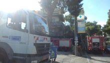 Πυρκαγιά ξέσπασε σήμερα το πρωί σε κτίριο που βρίσκεται στη διασταύρωση Τατοΐου και Παρθενώνος, στην Κηφισιά.
