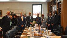 Ο Δήμαρχος Κηφισιάς Γιώργος Θωμάκος υποδέχθηκε εκ μέρους του Δήμου επίσημη αντιπροσωπεία δημοτικών αξιωματούχων από το Κατάρ με επικεφαλής τον Πρέσβη κκ Abdulaziz Ali Al-Naama.