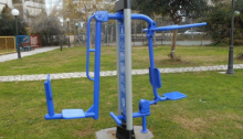 Δεκαέξι νέα όργανα γυμναστικής ενηλίκων σε χώρους πρασίνου τοποθέτησε ο Δήμος Αμαρουσίου.