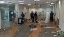 Σε εξέλιξη είναι οι εργασίες ανακαίνισης στο κεντρικό ΚΕΠ του Δήμου Χαλανδρίου.