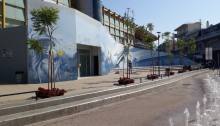 Από αύριο 27 Αυγούστου 2019 ξεκινά η λειτουργία του υπόγειου χώρου στάθμευσης στην πλατεία Ευτέρπης, ενός έργου υποδομής «ορόσημο» για το Μαρούσι που θα βελτιώσει τις συνθήκες κυκλοφορίας και στάθμευσης στην ευρύτερη περιοχή του Εμπορικού Κέντρου της πόλης.