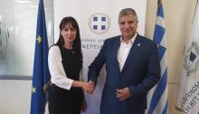 Μετά τη συνάντησή της με τον Περιφερειάρχη Αττικής, Γιώργο Πατούλη η Δήμαρχος Πεντέλης Δήμητρα Κεχαγιά ενημερώνε
