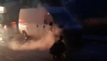 Πυρκαγιά ξέσπασε σε αυτοκίνητο στα Βριλήσσια.