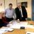 """Τεχνική συνάντηση πραγματοποιήθηκε για την εξέλιξη των εργασιών που αφορούν στην επέκταση του σχεδίου πόλης για την περιοχή """"Ηπειρώτικα – Καρπάθικα"""" (Βόρεια & Ανατολικά του Νεκροταφείου Αμαρουσίου), παρουσία του Δημάρχου ΑμαρουσίουΘεόδωρου Αμπατζόγλου, του Αντιδημάρχου ΠολεοδομίαςΚων/νου Ρώτα, του Πολεοδόμου εκπροσώπου της Μελετητικής Εταιρίας Αντώνιου Παπαγεωργίουκαι υπηρεσιακών παραγόντων."""