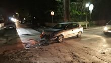 Τροχαίο ατύχημα χθες στο... γνωστό σημείο των Βριλησσίων.