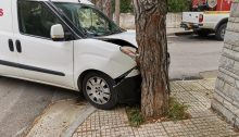 Τροχαίο ατύχημα αυτή τη στιγμή στα Βριλήσσια.