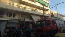 Πυρκαγιάξέσπασε σήμερα το πρωί, Σάββατο 30 Μαΐου, σε μίνι μάρκετ στο Χαλάνδρι.