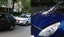 Δεύτερη σύγκρουση αυτοκινήτων μέσα σε μόλις τέσσερις ημέρες είχαμε σήμερα, Τρίτη 9 Ιουνίου, στη διασταύρωση Θερμοπυλών και Μπακογιάννη, στα Βριλήσσια.