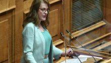 """""""Επικίνδυνη εστία μόλυνσης και κίνδυνος μπλακάουτ από εγκαταλελειμμένους σωρούς δέντρων στο Κτήμα Συγγρού και το Κοιμητήριο Κηφισιάς"""" είναι το θέμα ερώτησης που έκανε στη Βουλή η Αναστασία-Αικατερίνη Αλεξοπούλου, ΒουλευτήςΒ1 Βορείου Τομέα Αθηνών του Κόμματος Ελληνική Λύση:"""