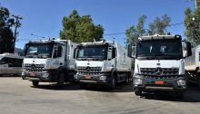 Με τρία νέα απορριμματοφόρα ενισχύεται η υπηρεσία Καθαριότητας του Δήμου Χαλανδρίου.