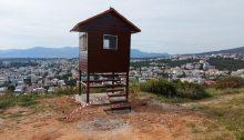 Νέο πυροφυλάκειο τοποθέτησε ο ΣΠΑΠ (Σύνδεσμος Δήμων για την Προστασία και Ανάπλαση του Πεντελικού) στο Πάτημα Βριλησσίων.
