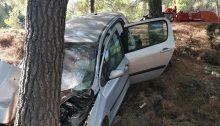 """Τροχαίο ατύχημα έγινε περίπου στις 10.00 το πρωί της Πέμπτης στη λεωφόρο Πεντέλης κοντά στο ζαχαροπλαστείο """"Μπάκας""""."""